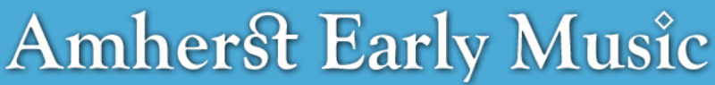 Amhert Logo Blue Background