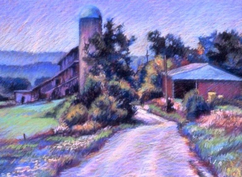 New Art Center Online Pastel Landscapes Newton Cultural Alliance