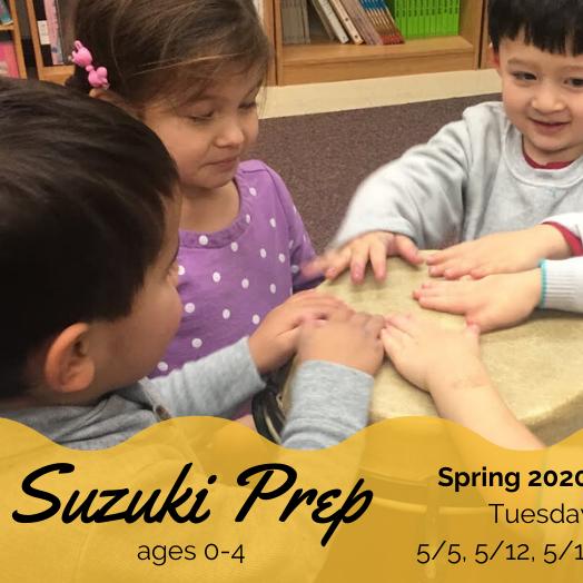 Suzuki Prep Online Section